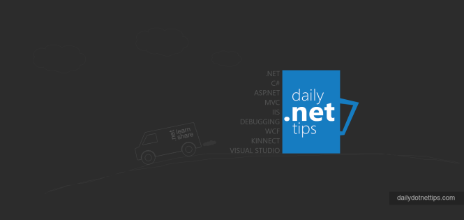 .NET Tips and Tricks