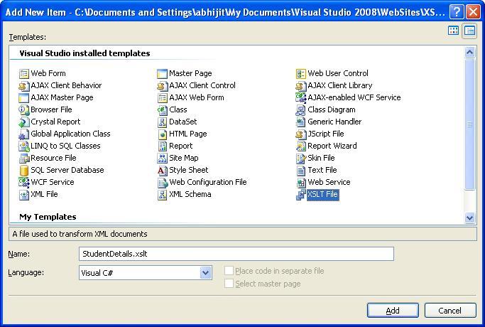 Saurabh gupta rendering xml using xsl html output for Xslt table design