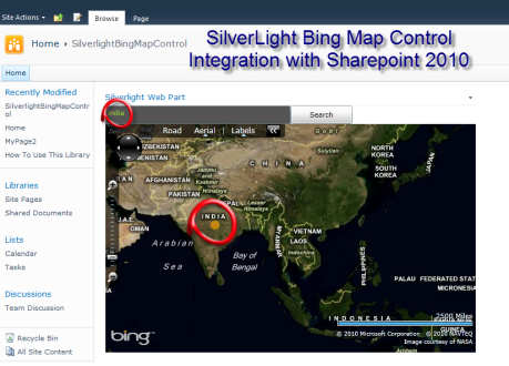 Silverlight Task Control For SharePoint 2010 – Example of