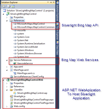Bing Maps Silverlight Control Integration with SharePoint