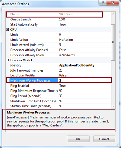 difference between website and web application in iis