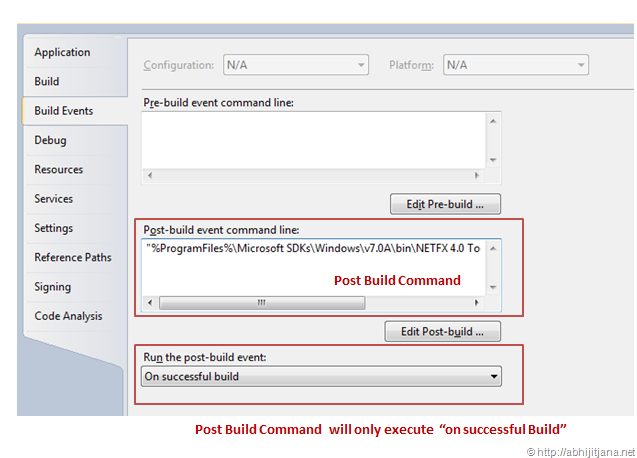 Install a shared Assembly to the GAC as post build event from Visual
