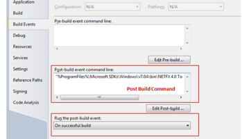 How to Pass Command Line Arguments using Visual Studio