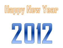 i wish you a happy new year 2012