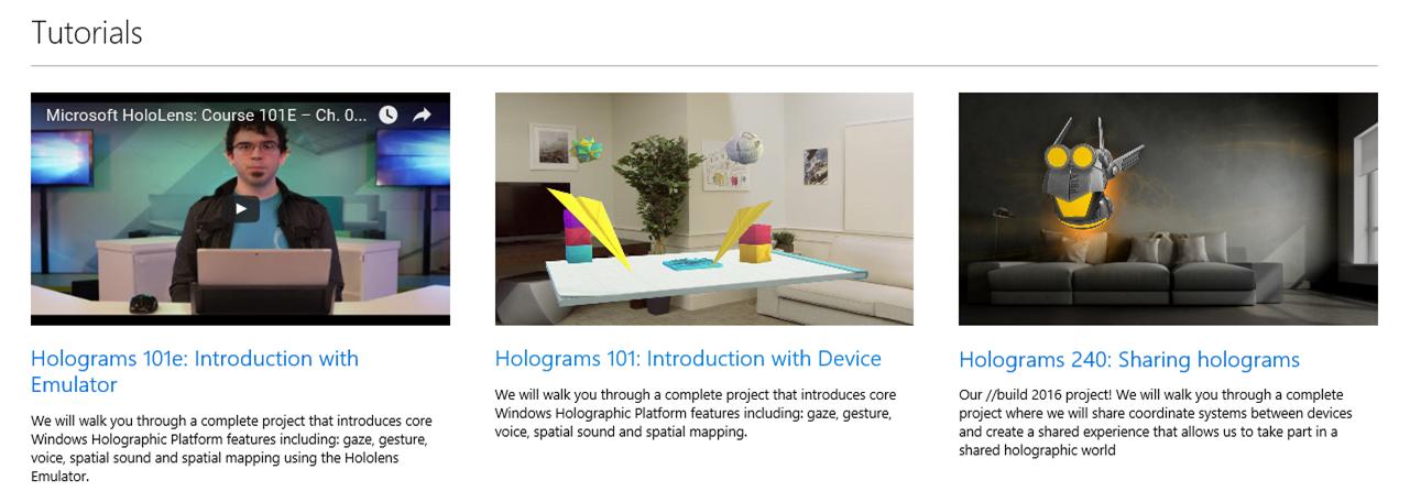 HoloLens Academy