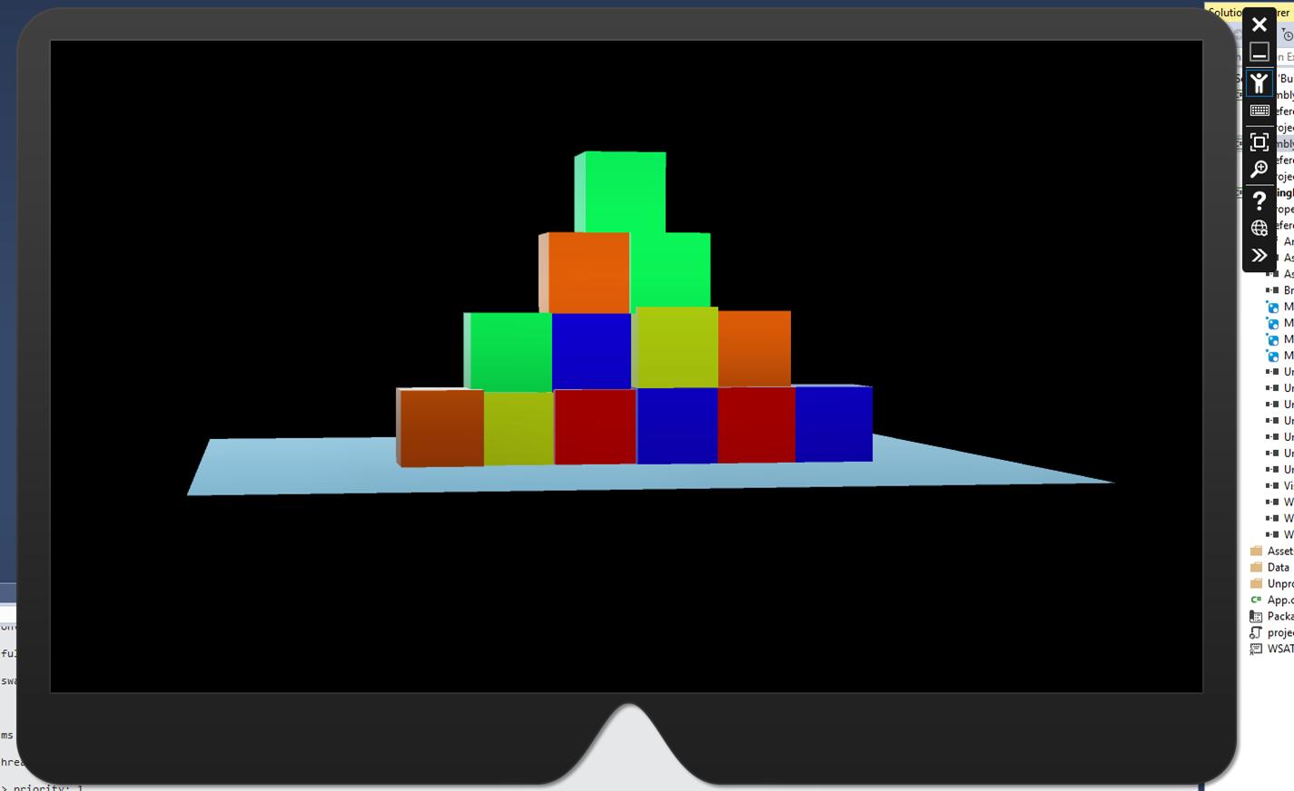 Building Blocks - Running on HoloLens Emulator