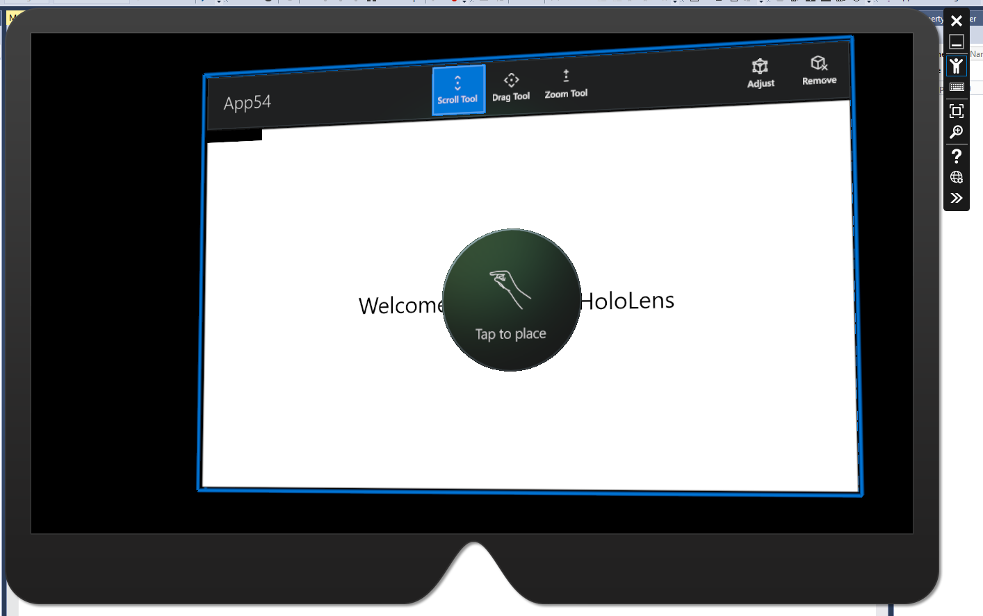 Universal Windows Apps Running on HoloLens Emulator