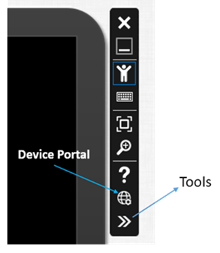 Opening the Tools for HoloLens Emulator