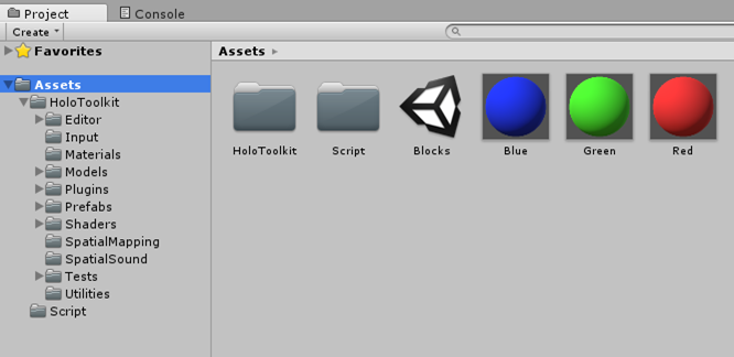 Adding HoloToolkit in your Unity Project