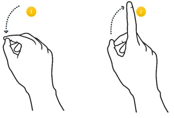 Air Tap Gesture