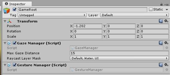 Gesture Manager Script