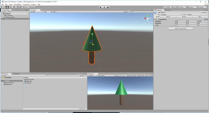 3D Model in Unity