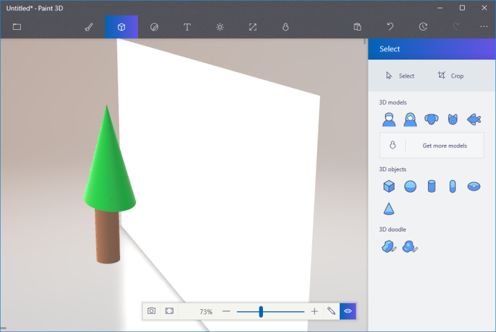 Preview 3D Object in Paint 3D