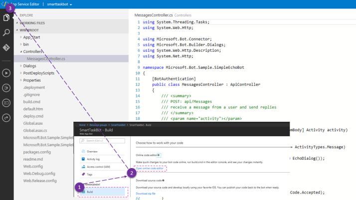 App Service Code Editor